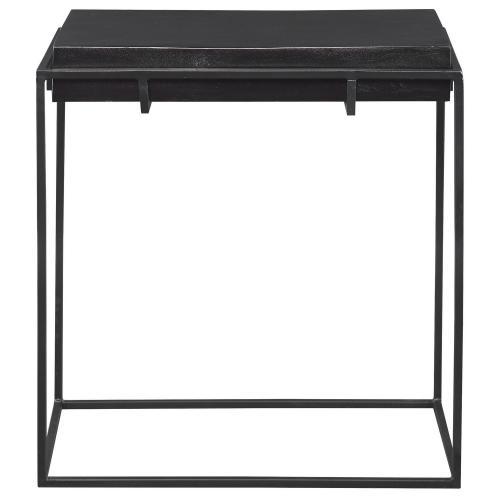Telone Modern Side Table - Black