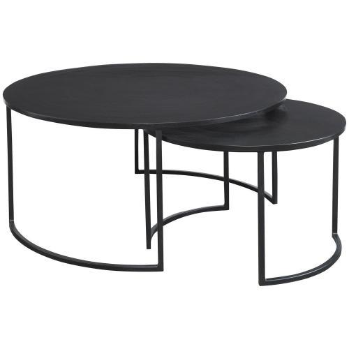 Barnette Modern Nesting Coffee Tables - Set of 2