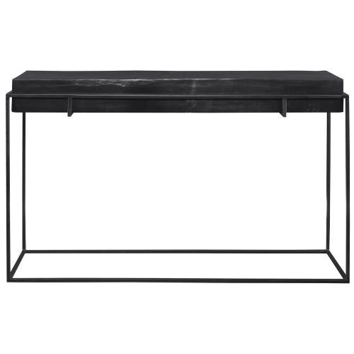 Telone Modern Console Table - Black