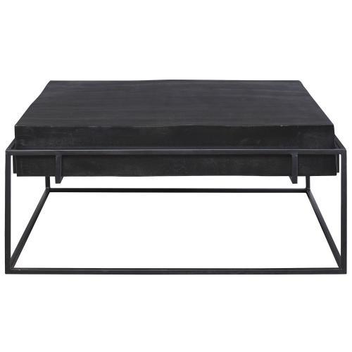 Telone Modern Coffee Table - Black