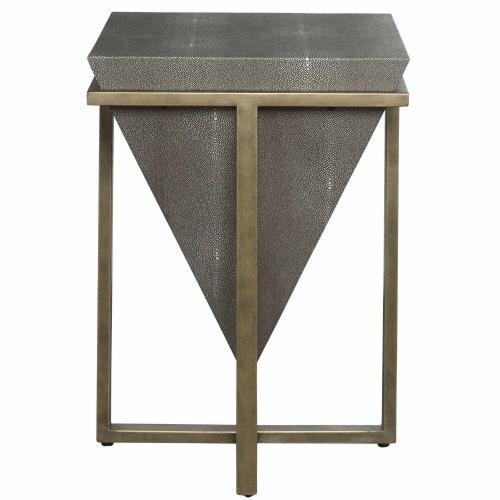 Bertrand Shagreen Accent Table