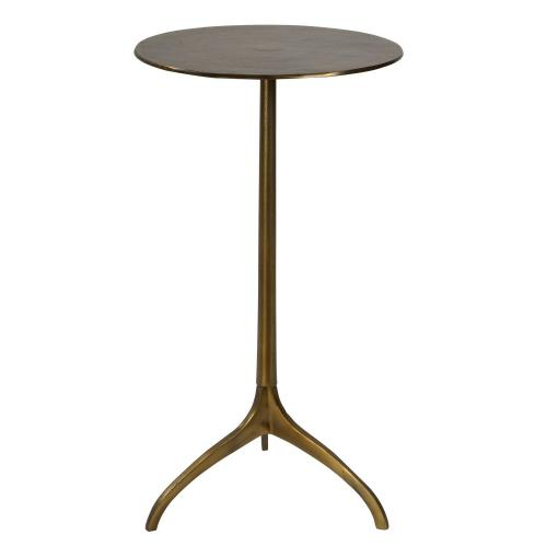Beacon Accent Table - Gold
