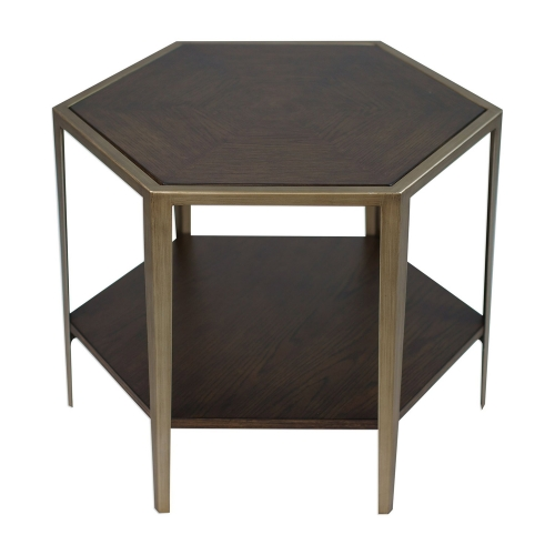 Alicia Accent Table - Geometric