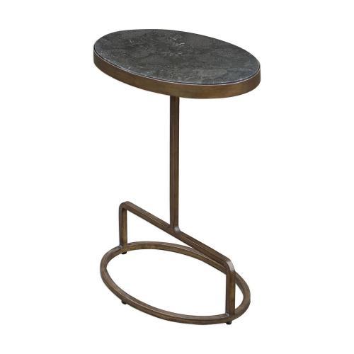 Jessenia Accent Table - Stone