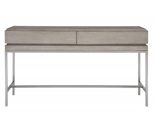 Kamala Console Table - Gray Oak