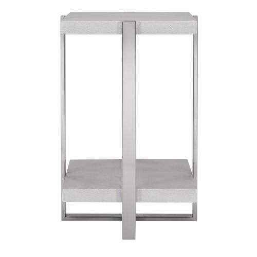 Arnaut Accent Table - White