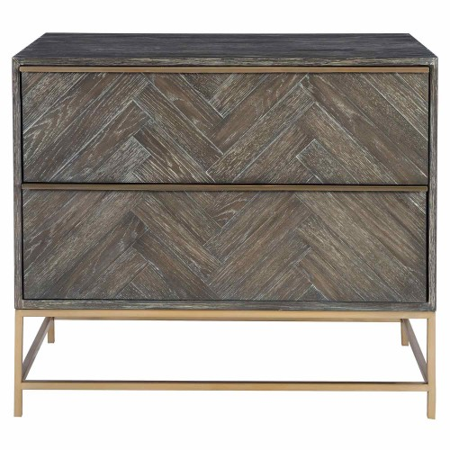 Armistead Drawer Chest - Dark Walnut