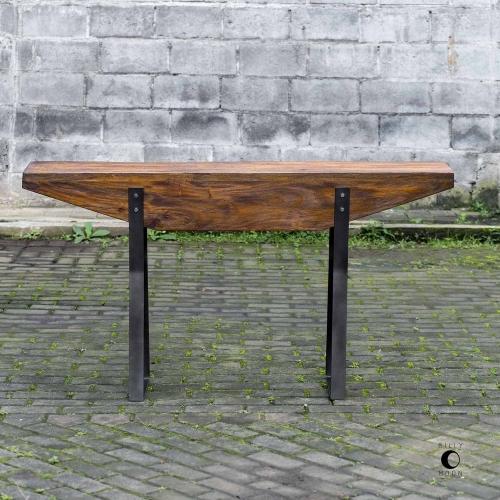 Emryn Industrial Sofa Table