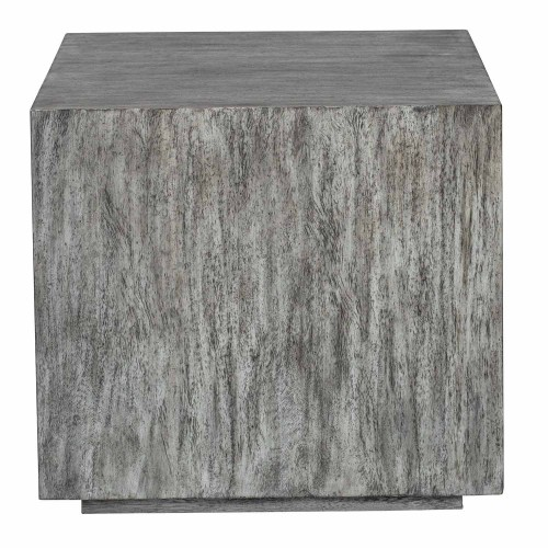 Kareem Modern Side Table - Gray
