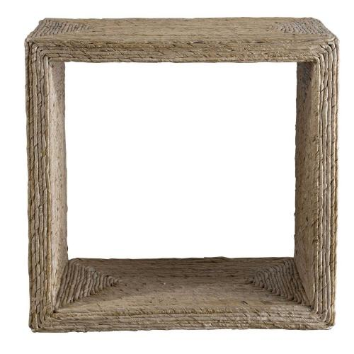 Rora Woven Accent Table