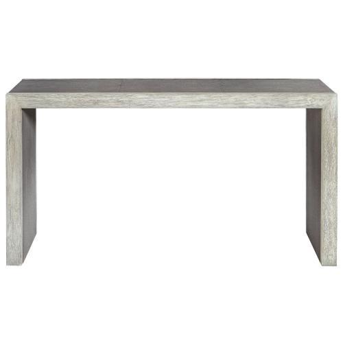 Aerina Console Table - Aged Gray