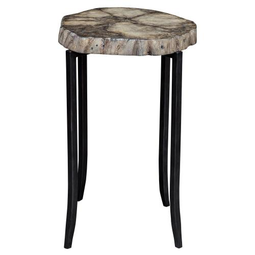 Stiles Accent Table - Rustic
