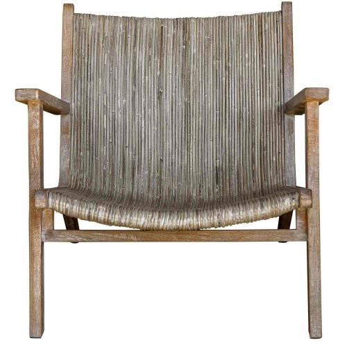 Aegea Accent Chair - Rattan