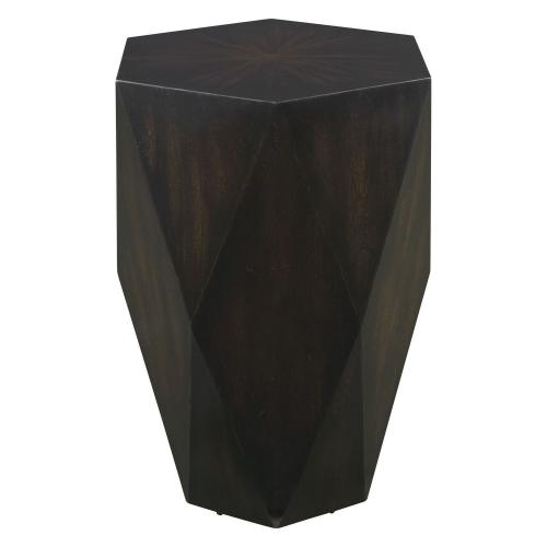 Volker Wooden Side Table - Black