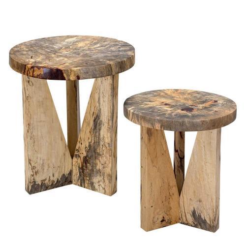 Nadette Nesting Tables - Set of 2 - Natural