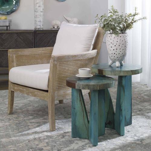 Nadette Nesting Tables - Set of 2 - Blue