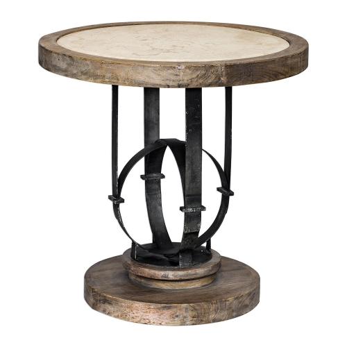 Sydney Accent Table - Light Oak