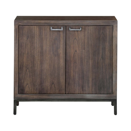 Nadie Console Cabinet - Light Walnut