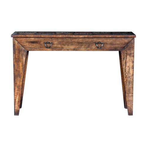 Delara Wood Console Table