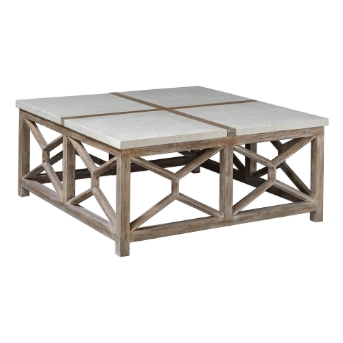 Catali Coffee Table - Stone