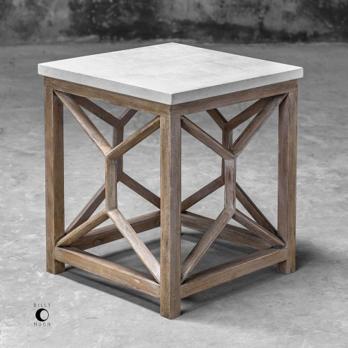 Catali End Table - Stone