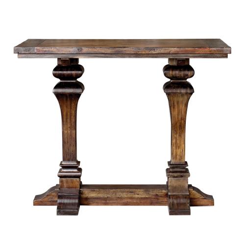 Percy Bar Table - Walnut