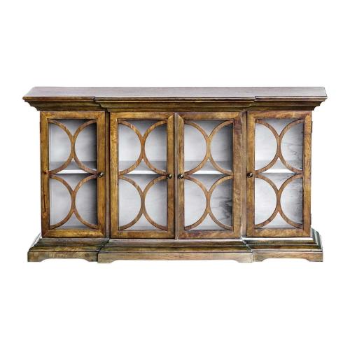 Belino Mist 4-Door Cabinet