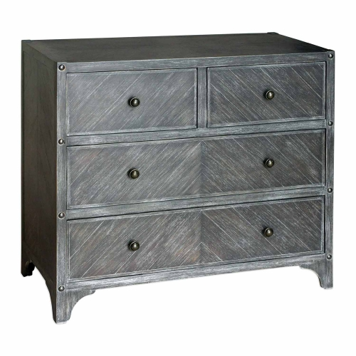 Brishen Accent Chest - Grey