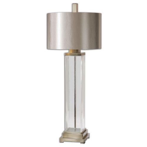 Drustan Glass Table Lamp - Clear