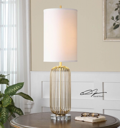 Cesinali Gold Table Lamp