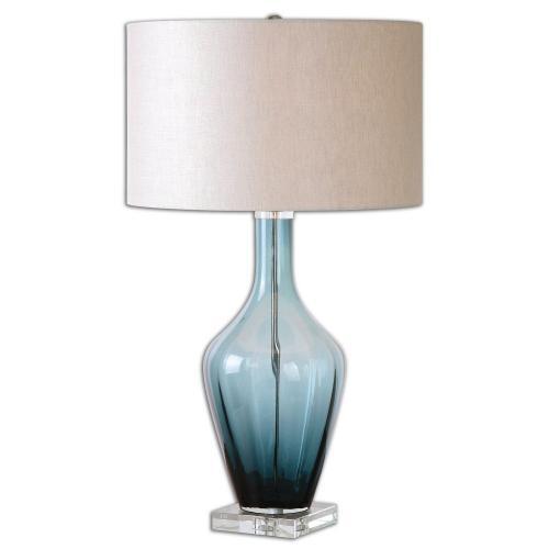 Hagano Glass Table Lamp - Blue