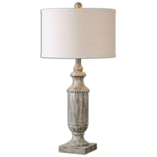 Agliano Lamp - Aged Dark Pecan