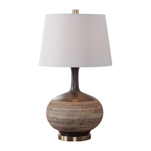 Kipling Table Lamp - Textured Beige