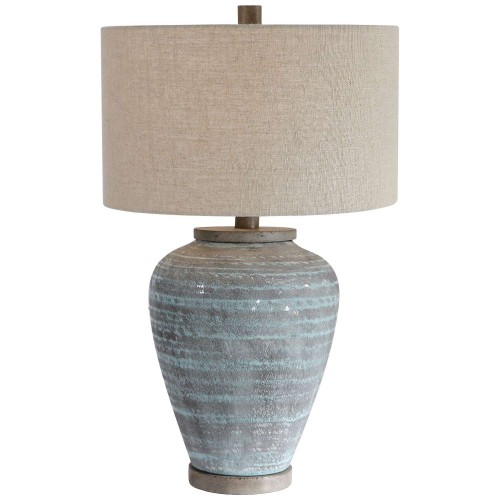 Pelia Table Lamp - Light Aqua