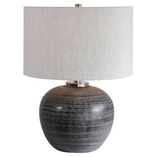 Mikkel Table Lamp - Charcoal