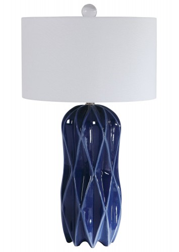 Malena Table Lamp - Blue