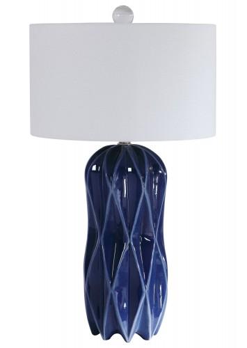 Malena Table Lamp - Blue