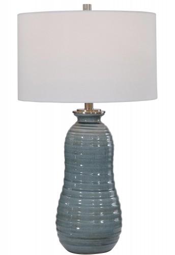 Zaila Table Lamp - Light Blue