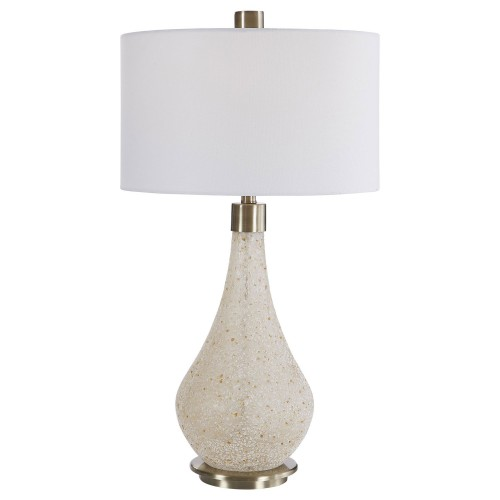 Chaya Table Lamp - Textured Cream