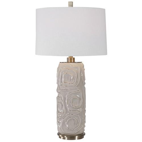 Zade Table Lamp - Warm Gray