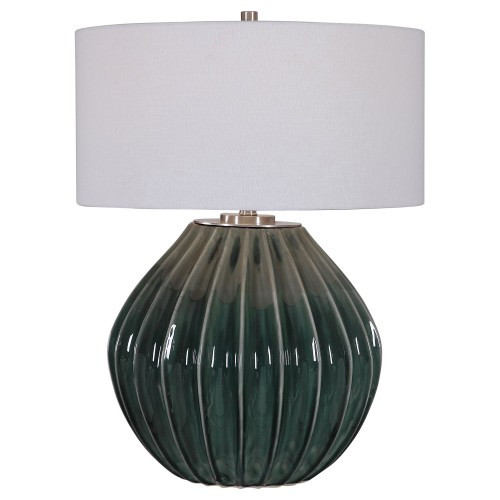 Rhonwen Table Lamp - Green