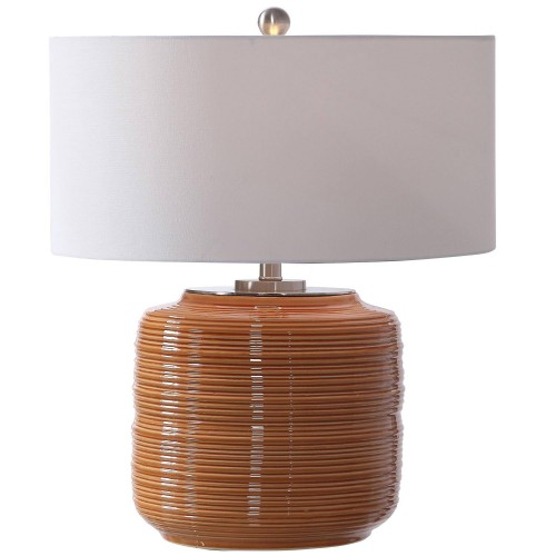 Solene Table Lamp - Orange