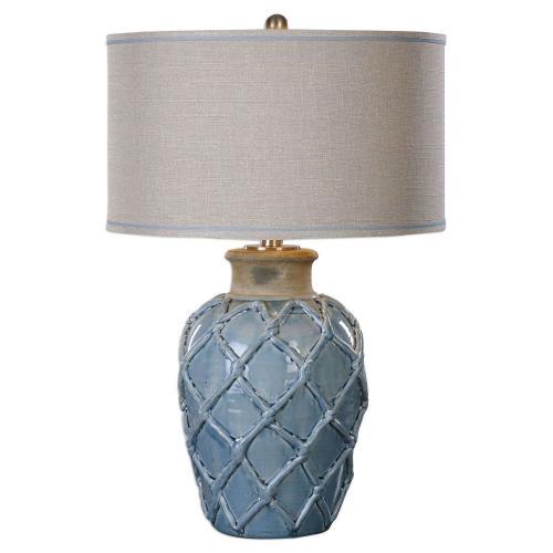 Parterre Table Lamp - Pale Blue