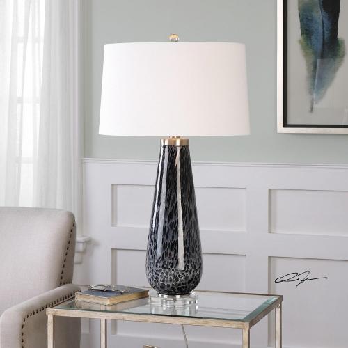 Marchiazza Dark Charcoal Table Lamp