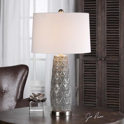 Cortinada Stone Gray Lamp