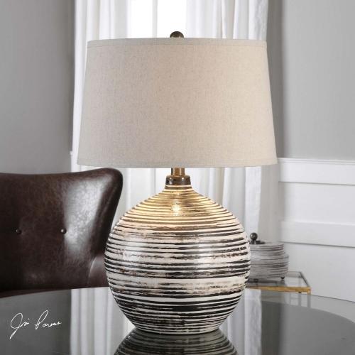 Bloxom Mocha Ivory Lamp