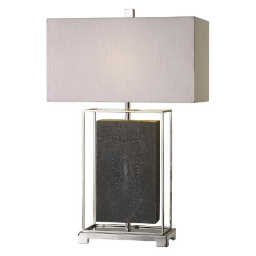 Sakana Table Lamp - Gray Textured