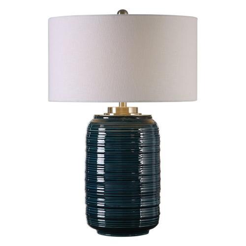 Delane Table Lamp - Dark Teal