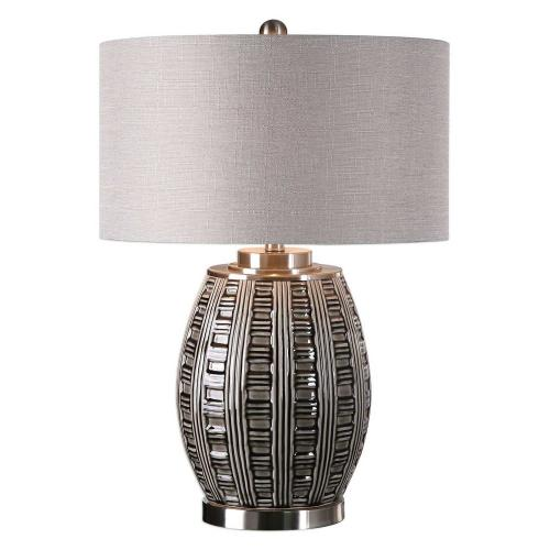 Aura Glaze Lamp - Ash Black