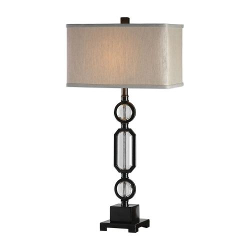 Jugovo Lamp - Bronze and Crystal